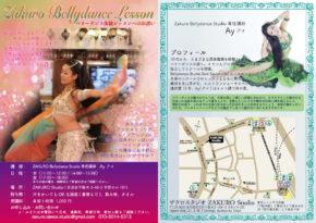 Bellydance Lesson flyer
