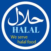 We serve halal food