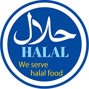 We serve halal food